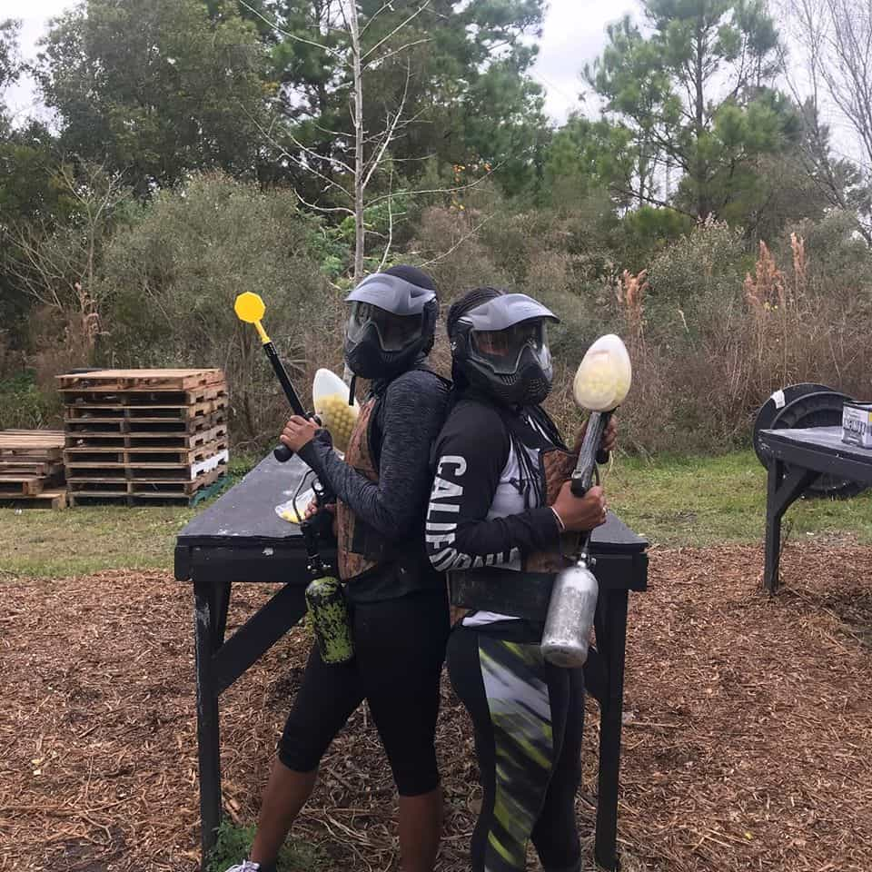 birthday paintball parties in Jacksonville