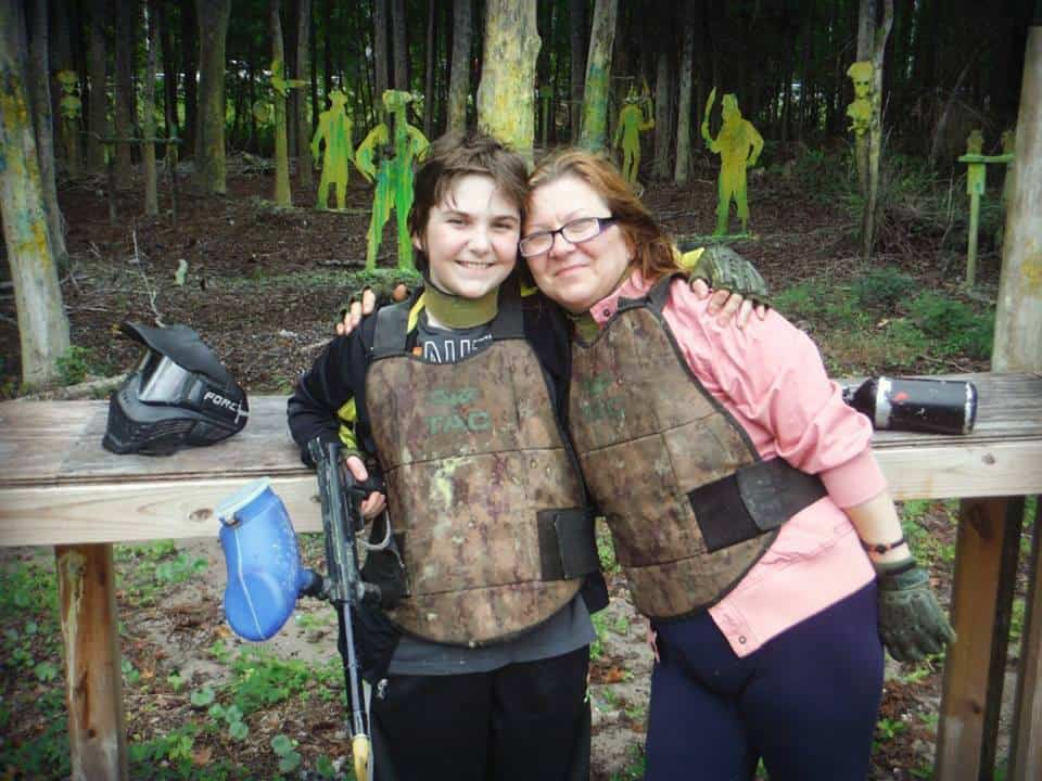 Family fun at Paintball Adventures